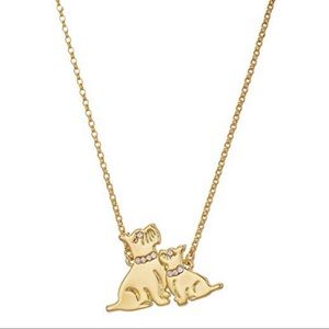 Kate Spade Mom Knows Best Dog Necklace